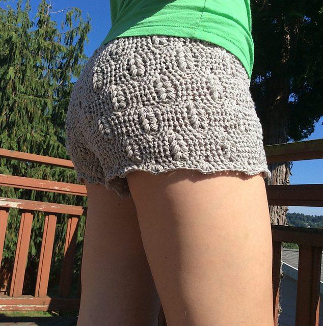 Haak shorts patroon