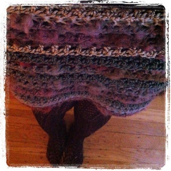 crochet skirt instagram vercillo