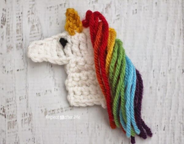 Crochet Unicorn Blanket Pattern Free : Crochet Patterns