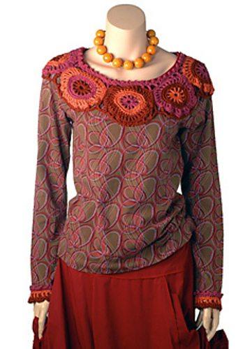 crochet yoke free pattern
