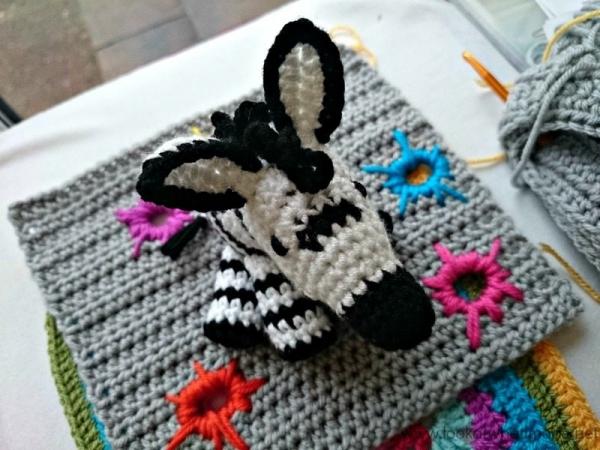 crochet zebra free pattern
