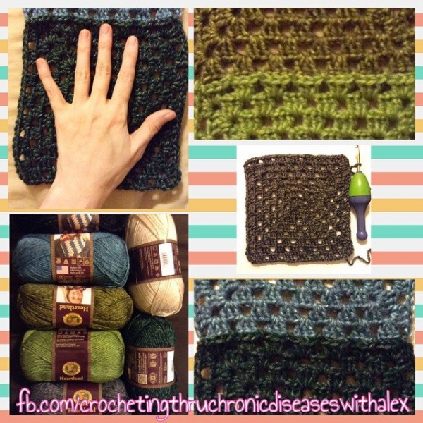 crochetingthruchronicdiseases crochet blanket