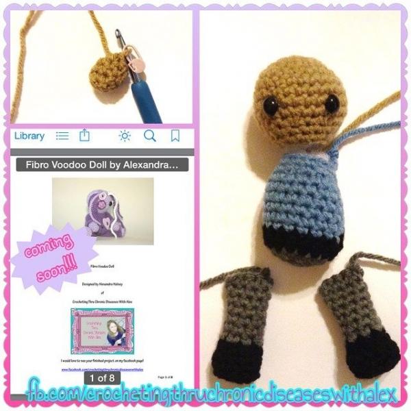 crochetingthruchronicdiseases crochet doll