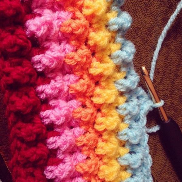 cuteashook colorful crochet