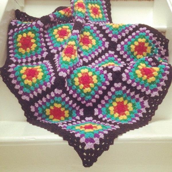 cuteashook crochet blanket