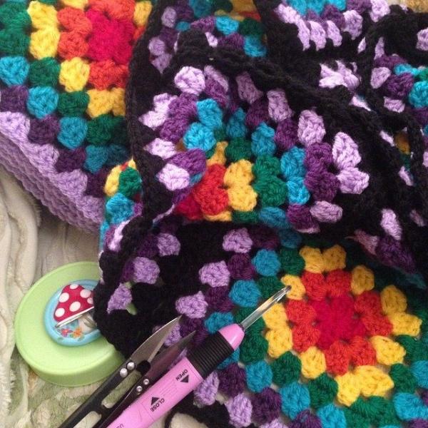 cuteashook crochet granny squares