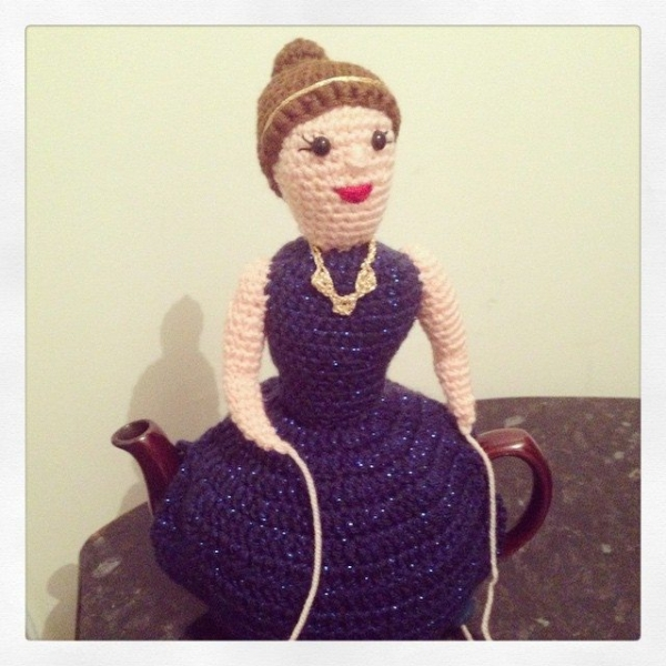 cuteashook crochet teapot cozy