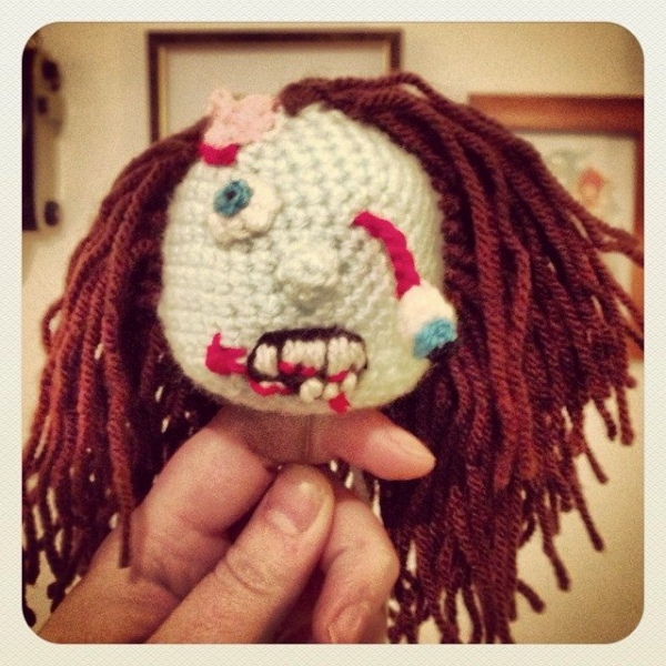 cuteashook crochet zombie
