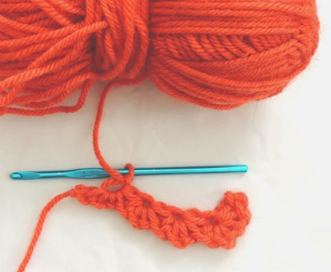 crochet daisy stitch tutorial