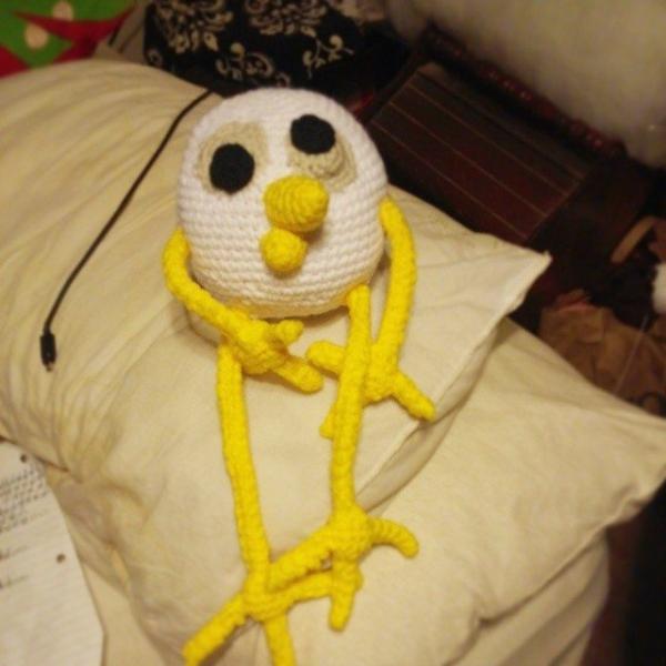 designsbydohdoh crochet bird