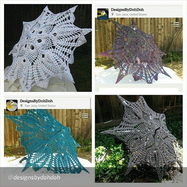 designsbydohdoh crochet parasol