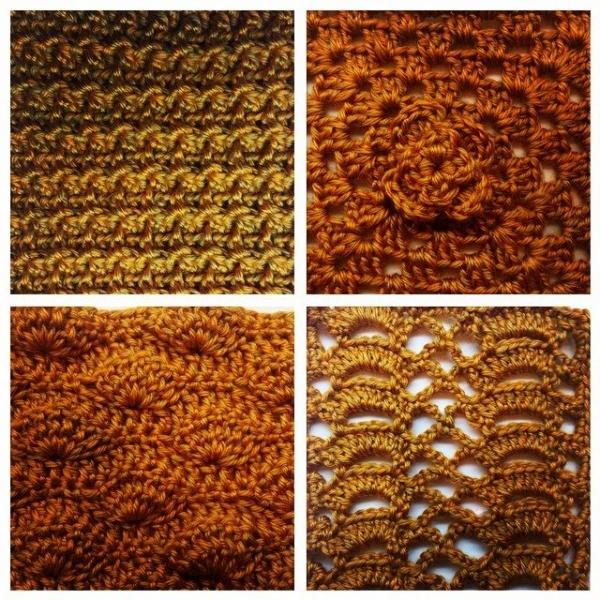 e.mireles crochet stitch practice