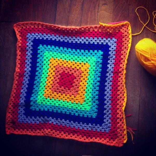 forestflowerdesigns rainbow crochet