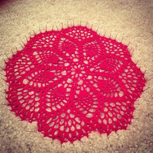 gfearon crochet blocking