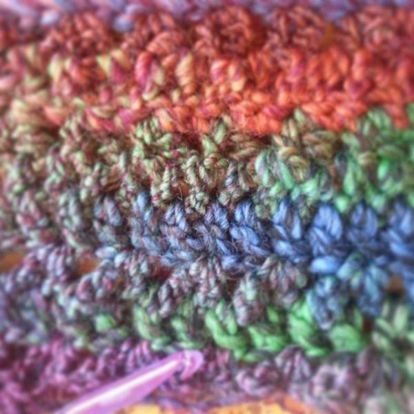 gigididthis crochet v stitch