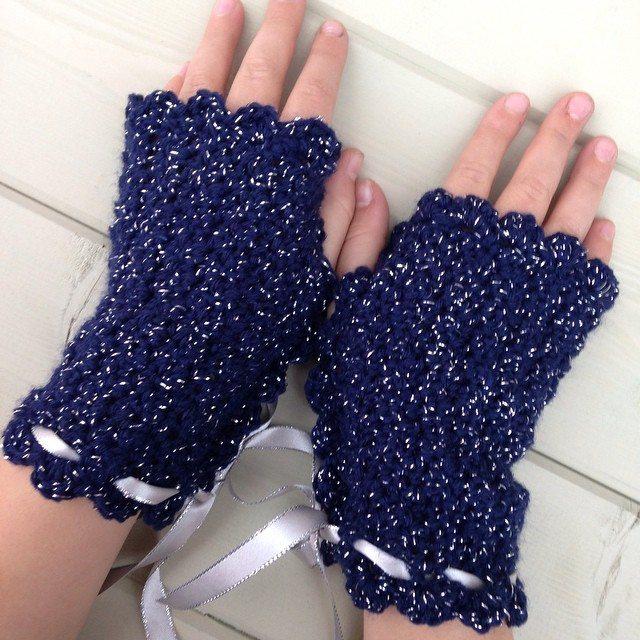 gooseberryfool crochet gloves