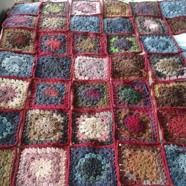 Crochet Quilt Squares : hanrosieg crochet blanket squares