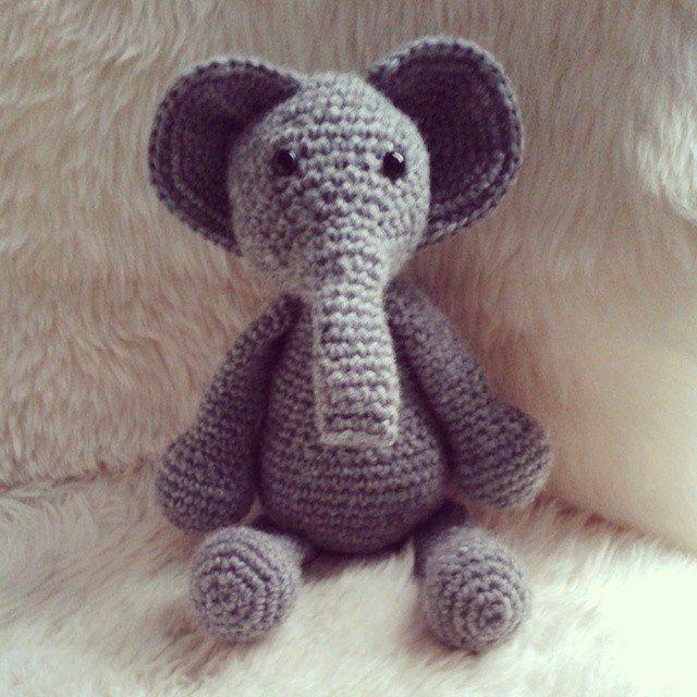 hanrosieg crochet elephant 2