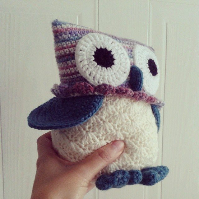 hanrosieg crochet owl