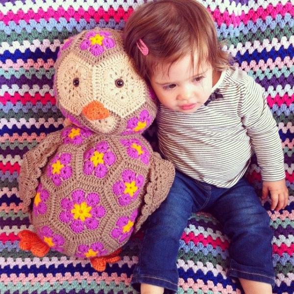holly_pips crochet owl