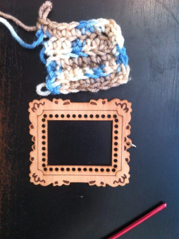 ewoodstory crochet frame