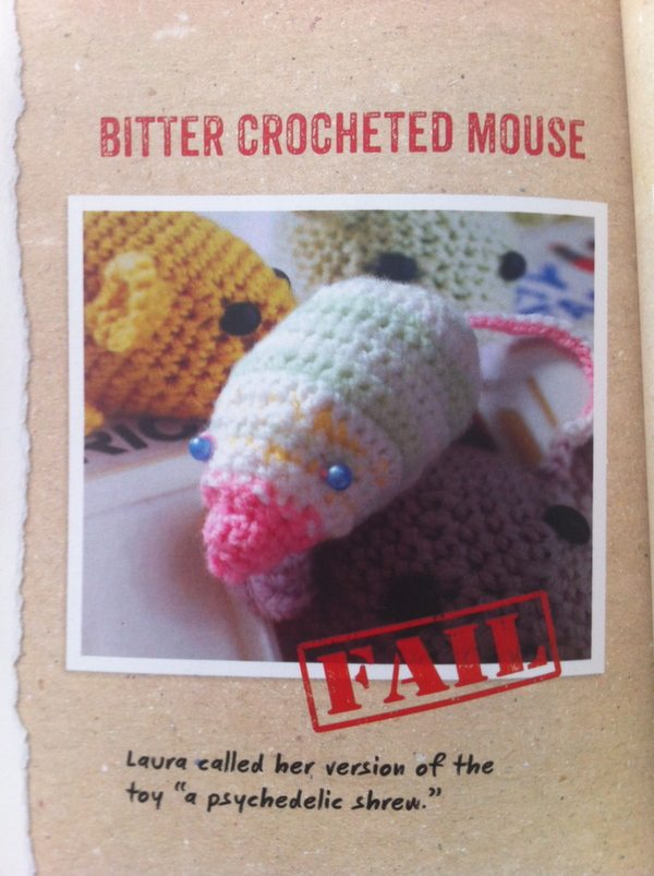 Crocheting Mistakes : Celebrating Craft Mistakes: Heather Manns Craft Fail Book