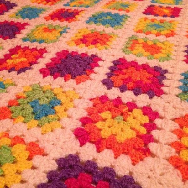 itsjustcrochet crochet blanket squares