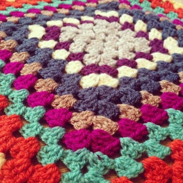 itsjustcrochet crochet colorful granny