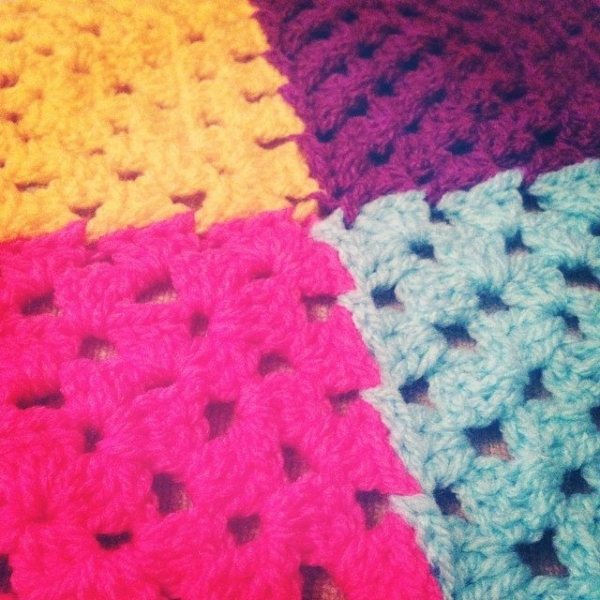itsjustcrochet granny square crochet colors