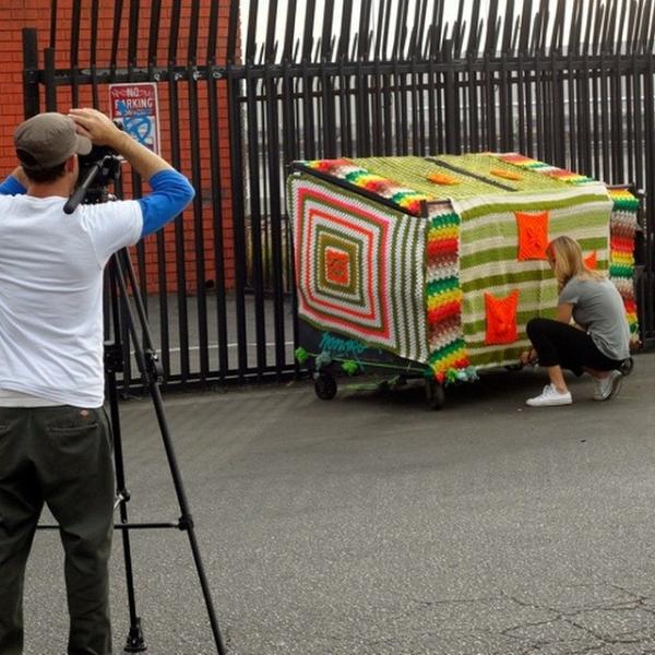 lisesolvang yarnbomb commercial