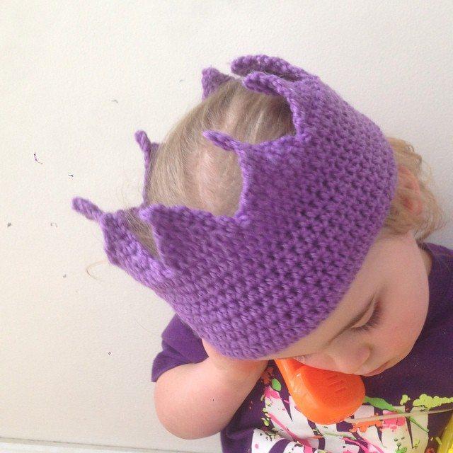 littlefoxcrochet crochet crown