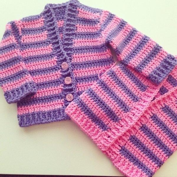 loucamp crochet cardigan