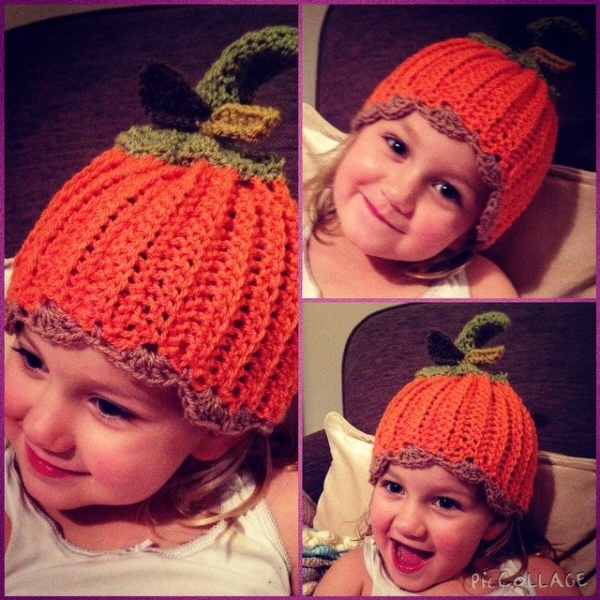 make_the_nest crochet pumpkin hats