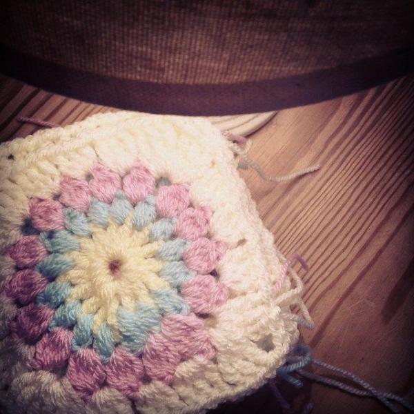 make_the_nest crochet squares pastel