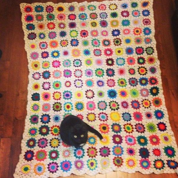mckaycrochet crochet granny blanket