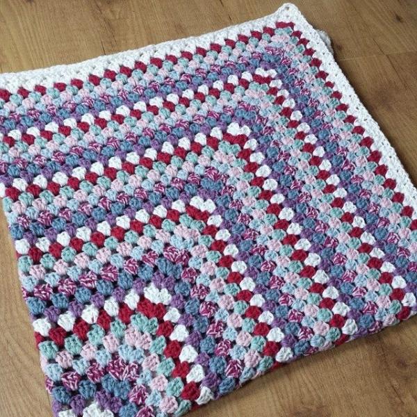 missmotherhook crochet granny square blanket