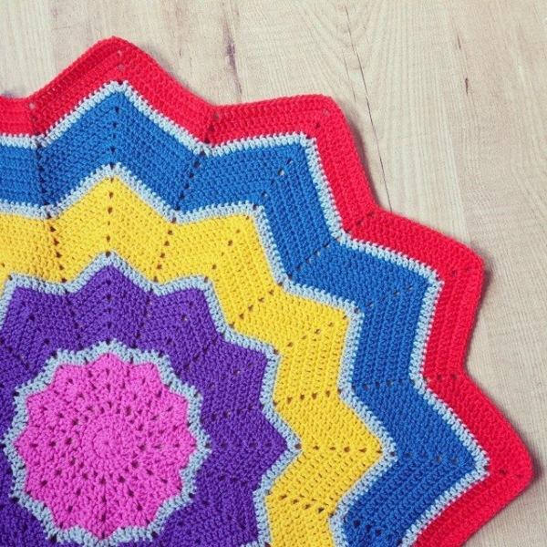 missmotherhook crochet ripple blanket