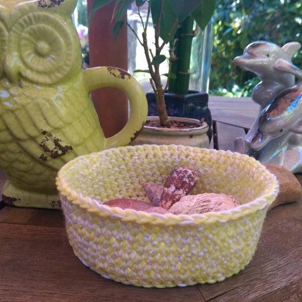 oakherder crochet basket