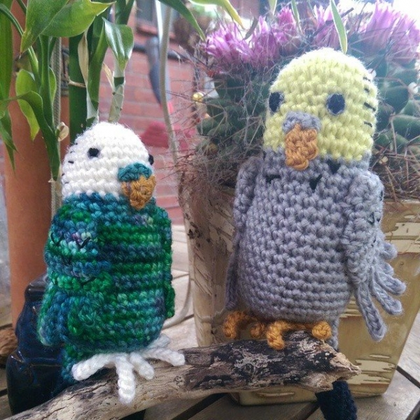 oakherder crochet budgies