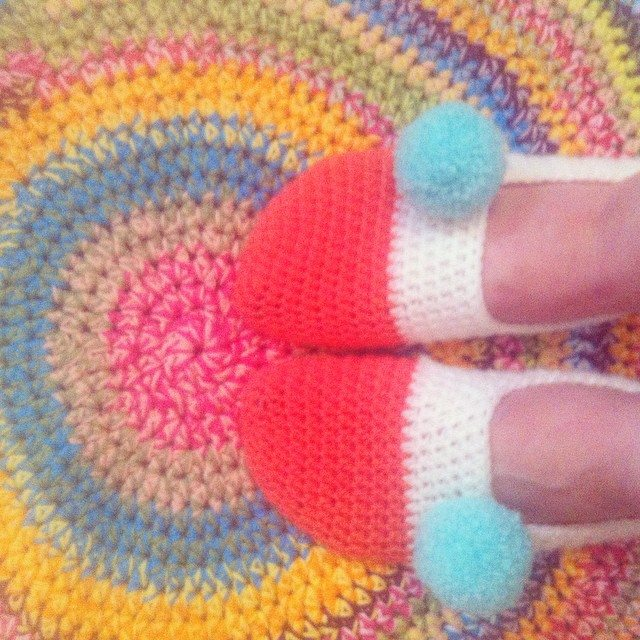 polly_pet crochet socks
