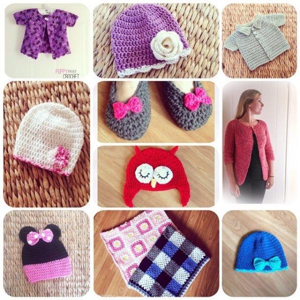 poppymaycrochet crochet collage