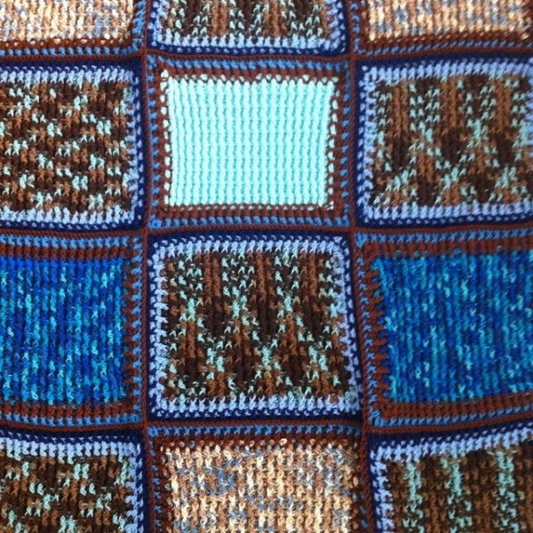 post stitch crochet blanket 2