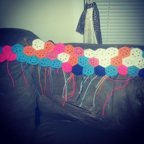 s.s.strange crochet blanket