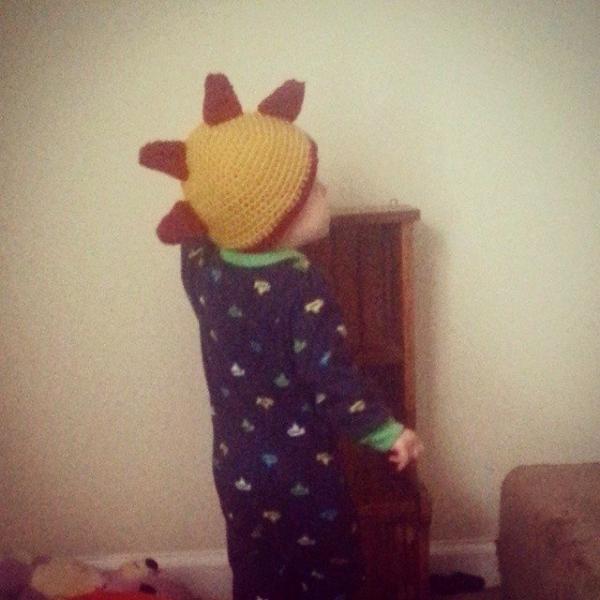 s.s.strange crochet hat