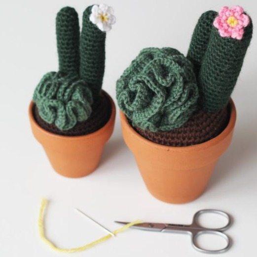 crochet cactus free pattern