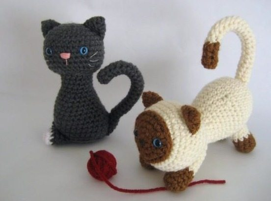 crochet kitten free pattern