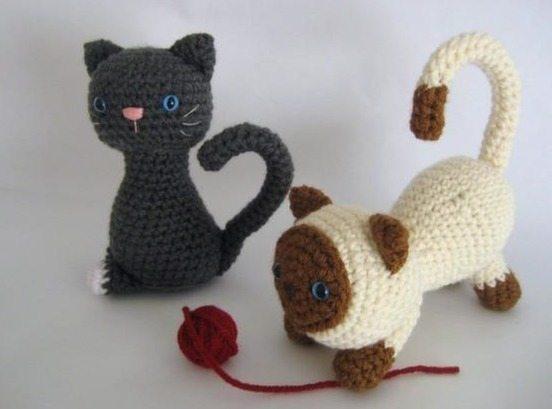 crochet kitten free pattern