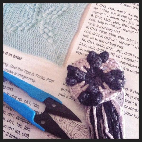 stephaniedavies crochet blanket wip