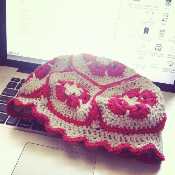 stephaniedavies crochet hat
