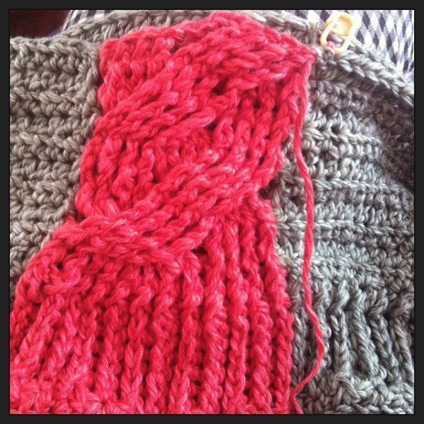 stephaniedavies crochet hat cables